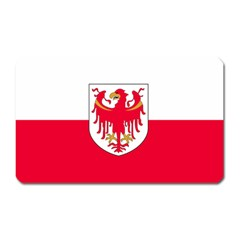 Flag of South Tyrol Magnet (Rectangular)