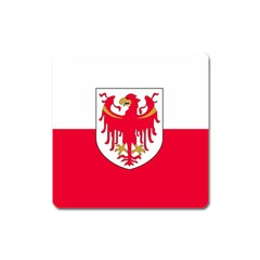 Flag of South Tyrol Square Magnet