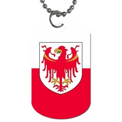 Flag of South Tyrol Dog Tag (One Side)