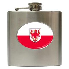 Flag of South Tyrol Hip Flask (6 oz)