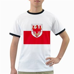 Flag of South Tyrol Ringer T-Shirts