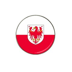 Flag of South Tyrol Hat Clip Ball Marker