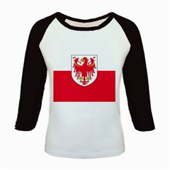 Flag of South Tyrol Kids Baseball Jerseys