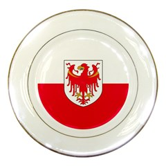 Flag of South Tyrol Porcelain Plates