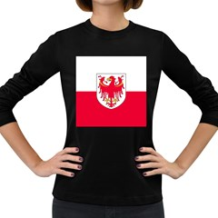 Flag of South Tyrol Women s Long Sleeve Dark T-Shirts