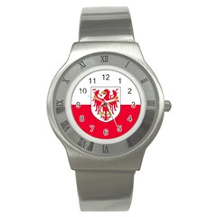 Flag of South Tyrol Stainless Steel Watch