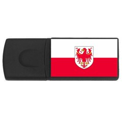 Flag of South Tyrol USB Flash Drive Rectangular (4 GB)