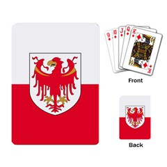 Flag of South Tyrol Playing Card