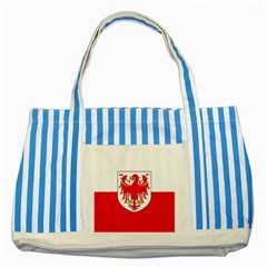 Flag of South Tyrol Striped Blue Tote Bag