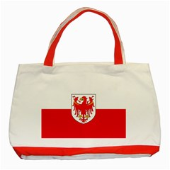 Flag of South Tyrol Classic Tote Bag (Red)