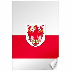 Flag of South Tyrol Canvas 20  x 30