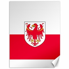 Flag of South Tyrol Canvas 36  x 48