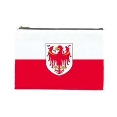 Flag of South Tyrol Cosmetic Bag (Large)