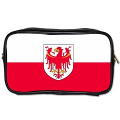 Flag of South Tyrol Toiletries Bags 2-Side