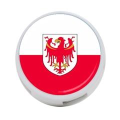 Flag of South Tyrol 4-Port USB Hub (Two Sides)