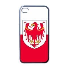 Flag of South Tyrol Apple iPhone 4 Case (Black)