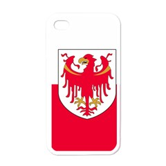 Flag of South Tyrol Apple iPhone 4 Case (White)