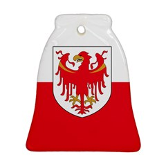 Flag of South Tyrol Bell Ornament (Two Sides)