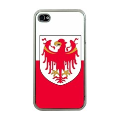 Flag of South Tyrol Apple iPhone 4 Case (Clear)