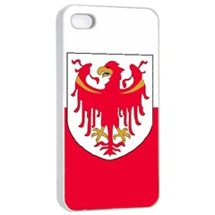 Flag of South Tyrol Apple iPhone 4/4s Seamless Case (White)