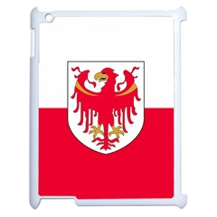 Flag of South Tyrol Apple iPad 2 Case (White)