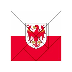 Flag of South Tyrol Acrylic Tangram Puzzle (4  x 4 )