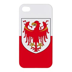 Flag of South Tyrol Apple iPhone 4/4S Premium Hardshell Case