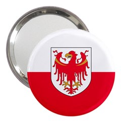Flag of South Tyrol 3  Handbag Mirrors