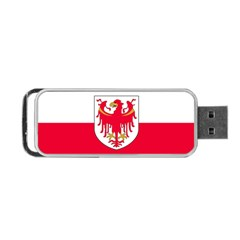 Flag of South Tyrol Portable USB Flash (One Side)