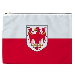 Flag of South Tyrol Cosmetic Bag (XXL)