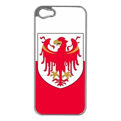 Flag of South Tyrol Apple iPhone 5 Case (Silver)