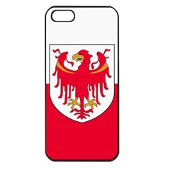 Flag of South Tyrol Apple iPhone 5 Seamless Case (Black)