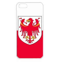 Flag of South Tyrol Apple iPhone 5 Seamless Case (White)