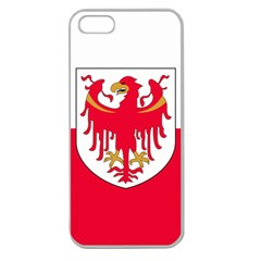Flag of South Tyrol Apple Seamless iPhone 5 Case (Clear)