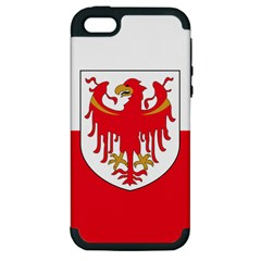 Flag of South Tyrol Apple iPhone 5 Hardshell Case (PC+Silicone)