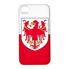 Flag of South Tyrol Apple iPhone 4/4S Hardshell Case with Stand