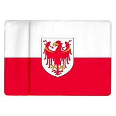 Flag of South Tyrol Samsung Galaxy Tab 10.1  P7500 Flip Case