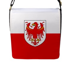 Flag of South Tyrol Flap Messenger Bag (L)