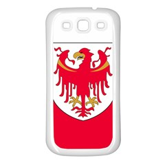 Flag of South Tyrol Samsung Galaxy S3 Back Case (White)