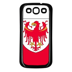 Flag of South Tyrol Samsung Galaxy S3 Back Case (Black)