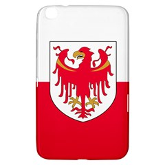 Flag of South Tyrol Samsung Galaxy Tab 3 (8 ) T3100 Hardshell Case