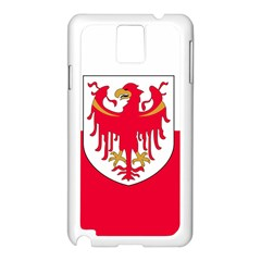 Flag of South Tyrol Samsung Galaxy Note 3 N9005 Case (White)