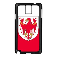 Flag of South Tyrol Samsung Galaxy Note 3 N9005 Case (Black)