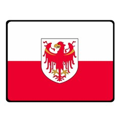 Flag of South Tyrol Double Sided Fleece Blanket (Small)