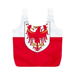 Flag of South Tyrol Full Print Recycle Bags (M)