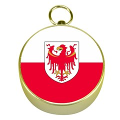 Flag of South Tyrol Gold Compasses