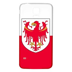 Flag of South Tyrol Samsung Galaxy S5 Back Case (White)