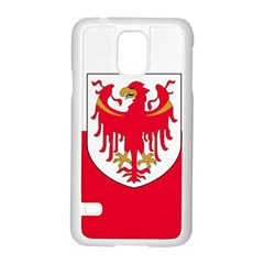 Flag of South Tyrol Samsung Galaxy S5 Case (White)