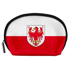 Flag of South Tyrol Accessory Pouches (Large)