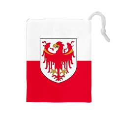 Flag of South Tyrol Drawstring Pouches (Large)